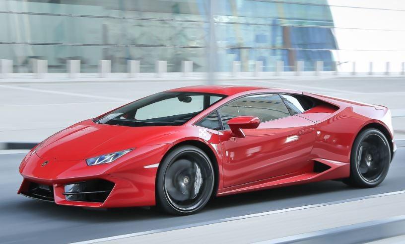 Lamborghini Huracán RWD.