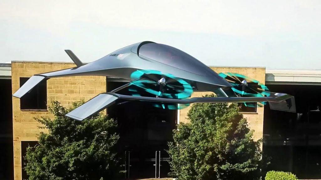 Conoce el coche volador de Aston Martin