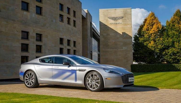 Aston Martin Rapide E, el principio del cambio