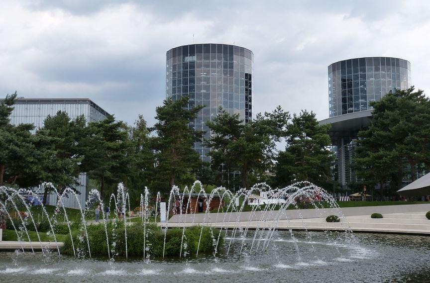 Ciudad del coche de Wolfsburgo.