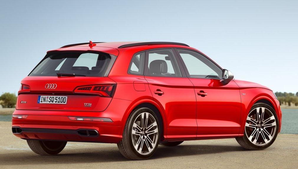 Diseño del Audi SQ5.