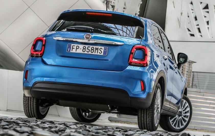 Diseño del Fiat 500 X 2019.