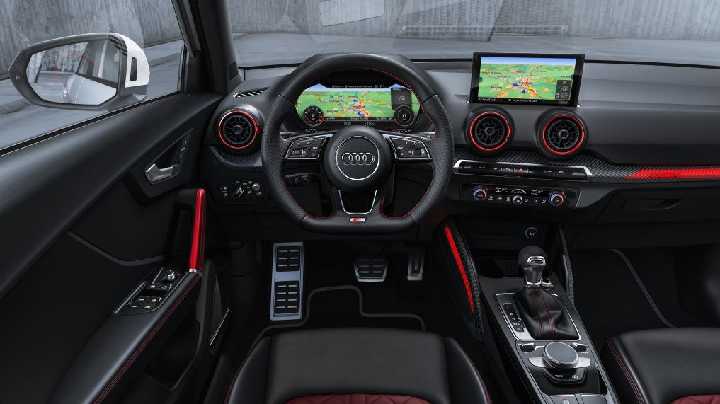 Interior del Audi SQ2.