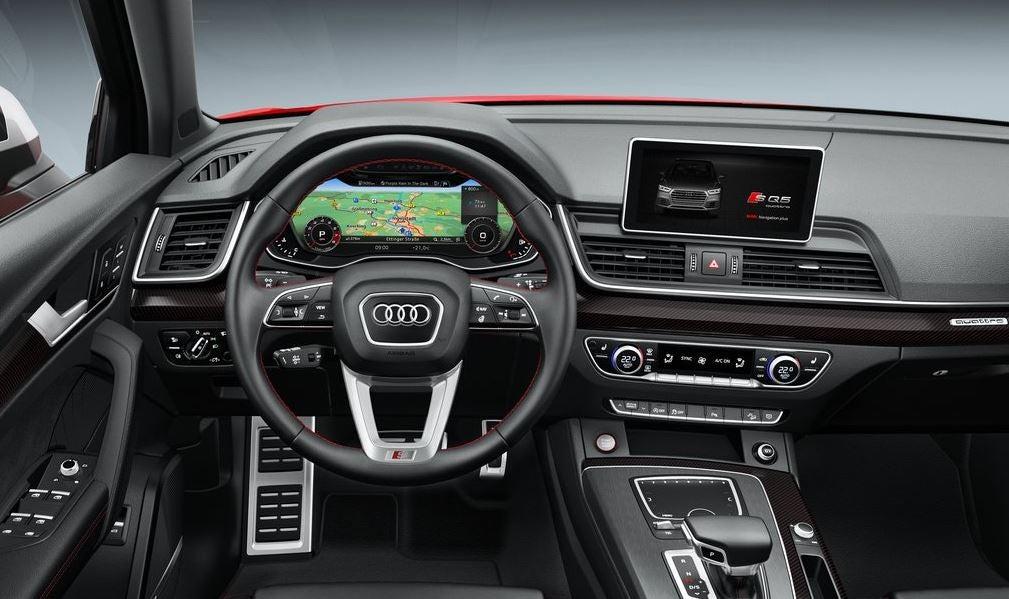Interior del Audi SQ5.