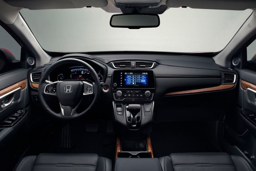 Interior del Honda CR-V 2019.