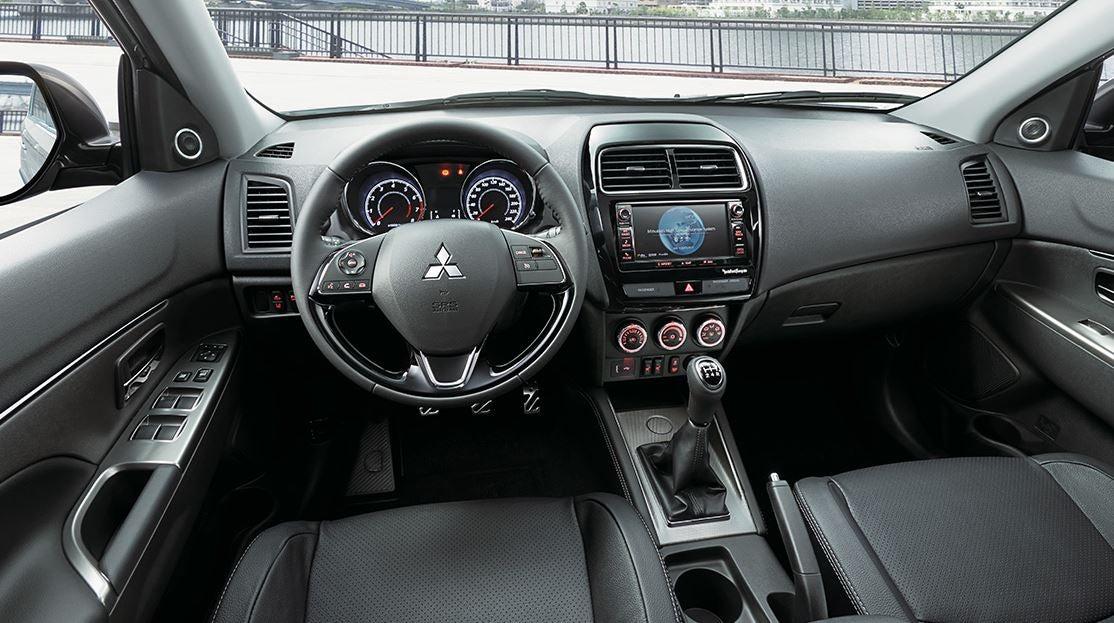Interior del Mitsubishi ASX.