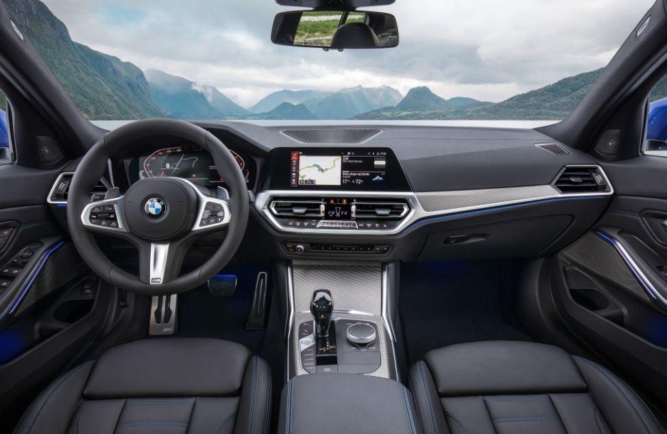 Interior del nuevo BMW Serie 3.