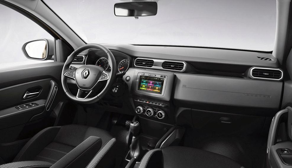 Interior del Renault Arkana.