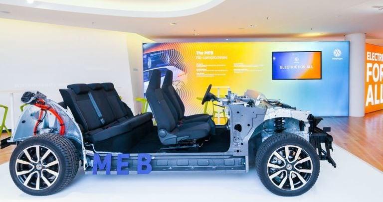Conoce la plataforma MEB, la base de los futuros eléctricos del grupo VAG