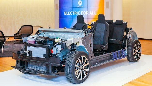 Plataforma MEB de Volkswagen.