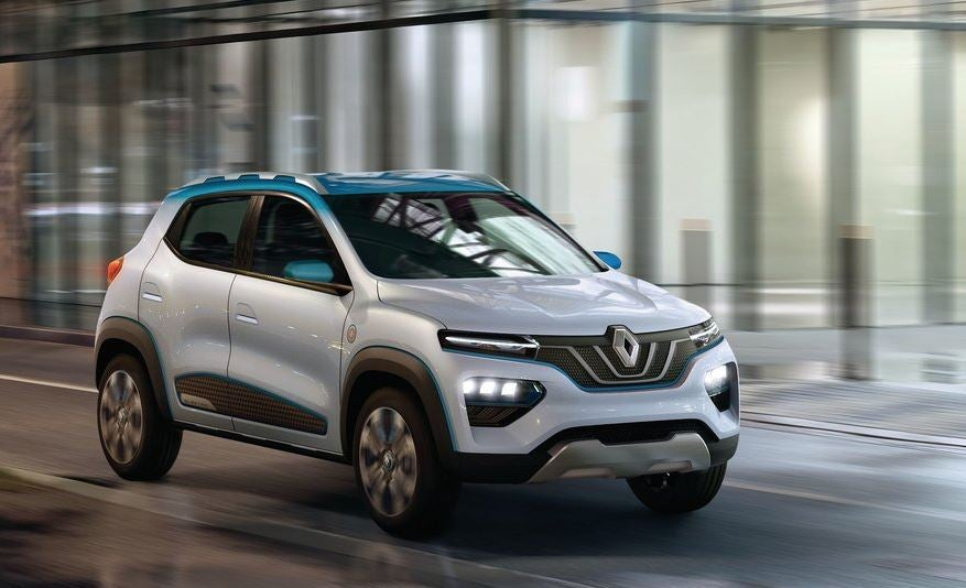 Renault KZ-E, el concept eléctrico asequible