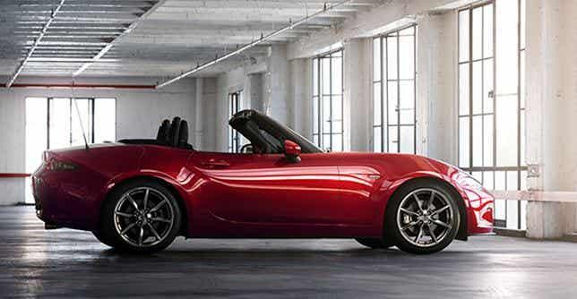 Actualización del Mazda MX-5