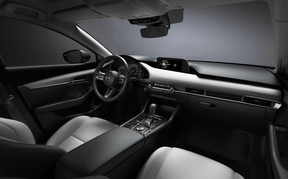 interior del Mazda3 2019.