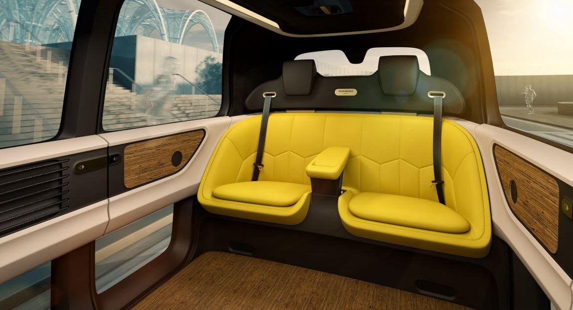Interior del Volkswagen Sedric.
