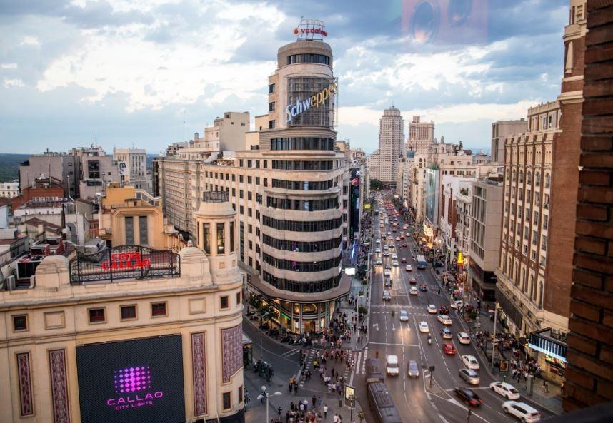 Nuevo plan de circulación de Madrid