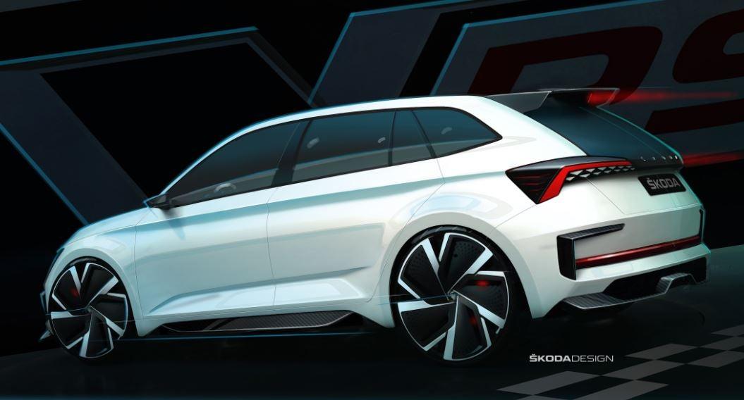 Prototipo del futuro Skoda Scala.