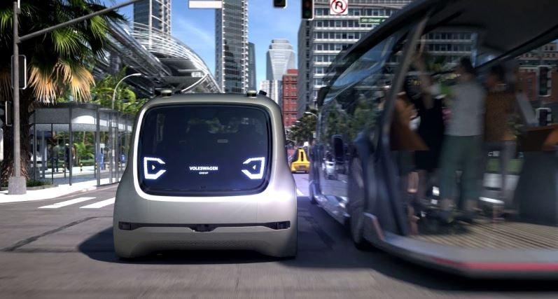 Vehículos autónomos de Volkswagen.