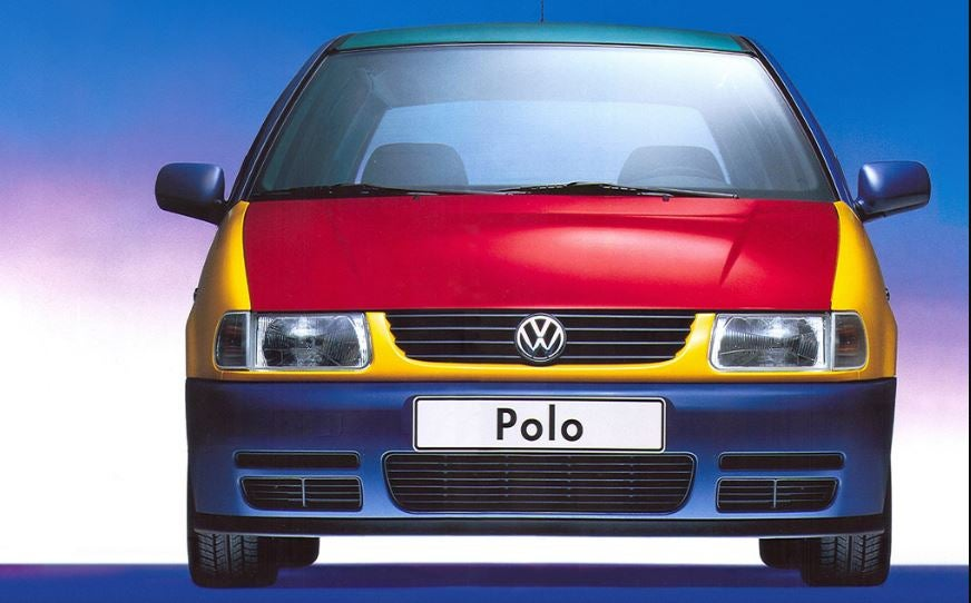 Volkswagen Polo Harlequim.