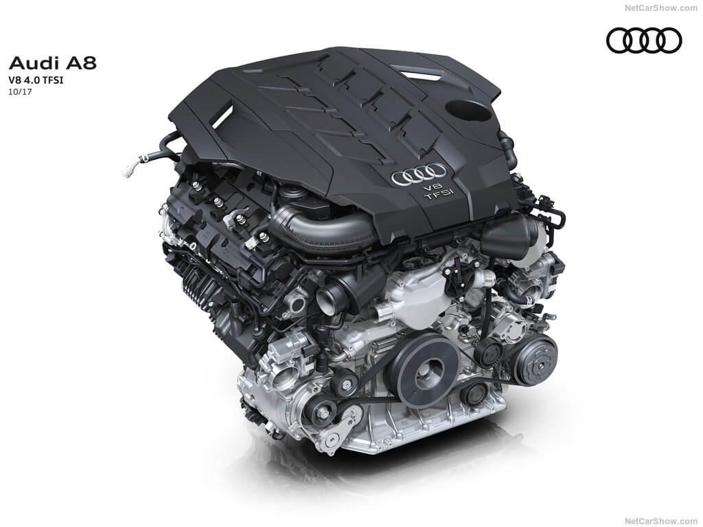 Motor del Audi A8 año 2018