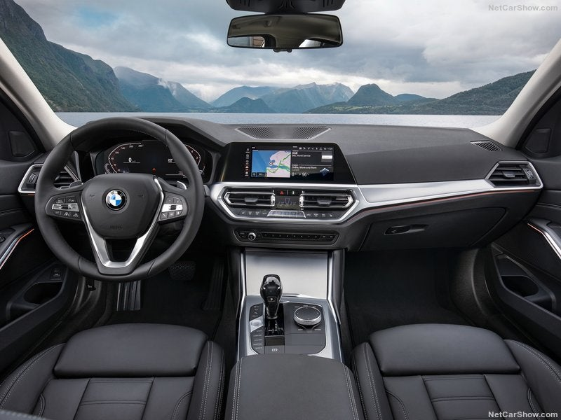 Interior del BMW 3 Series 2019