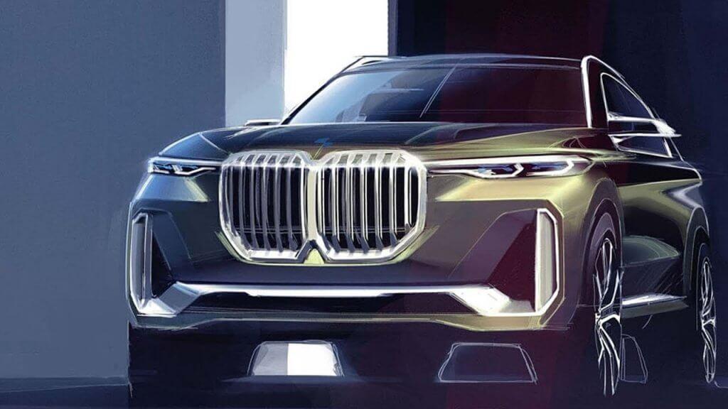 BMW X8 SUV coupé, el futuro que nos espera