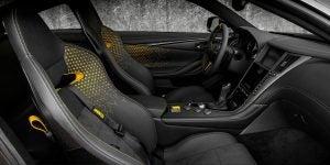 Infiniti Q60 Proyect Black Concept vista interior