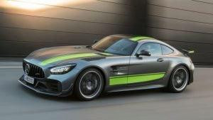 Mercedes AMG GT R Pro 2018: lateral