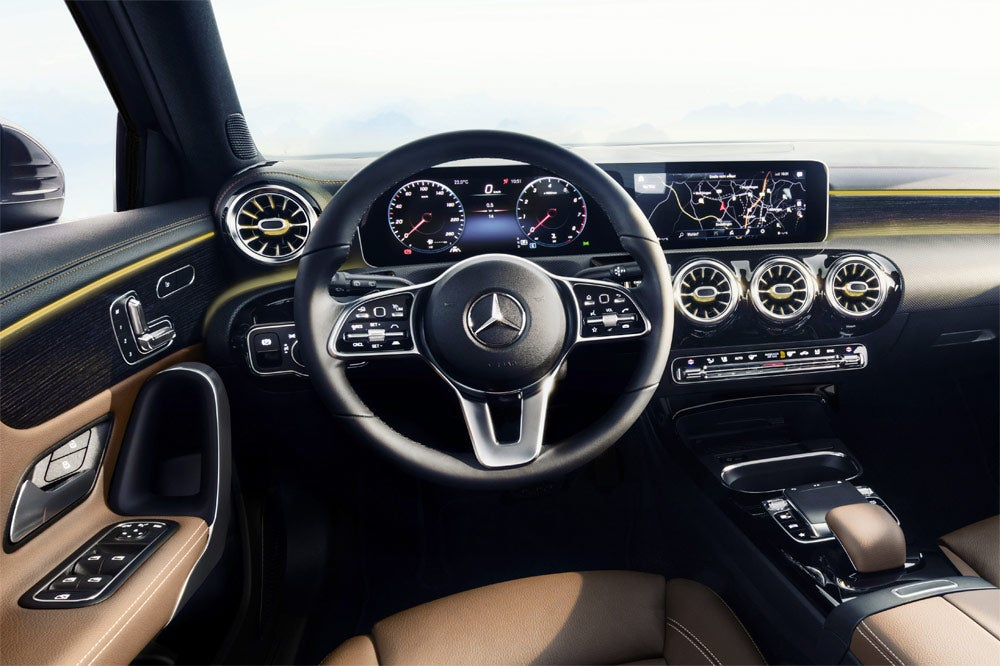 Mercedes Clase B interior 2018