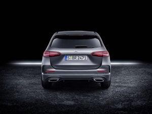 Mercedes Clase B 2018 parte trasera
