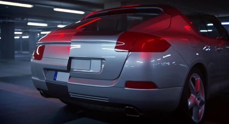 Vista trasera del Porsche Cayenne Cabriolet