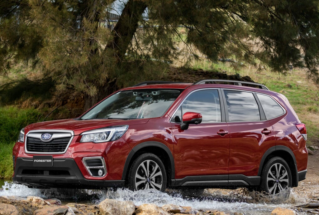 Subaru Forester 2019: frontal.
