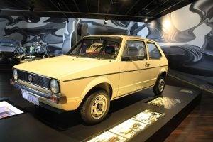 Volkswagen Golf Mk1 1977: frontal