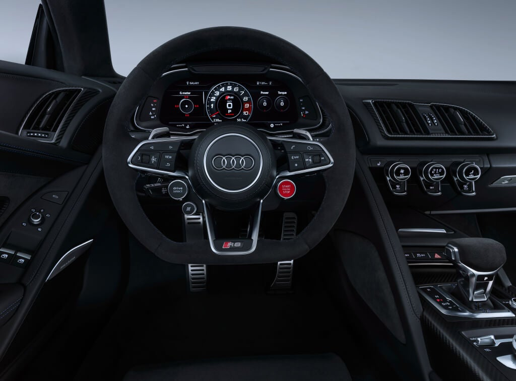interior audi r8 v10 2019