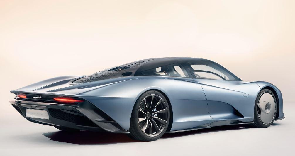 Diseño del McLaren Speedtail.