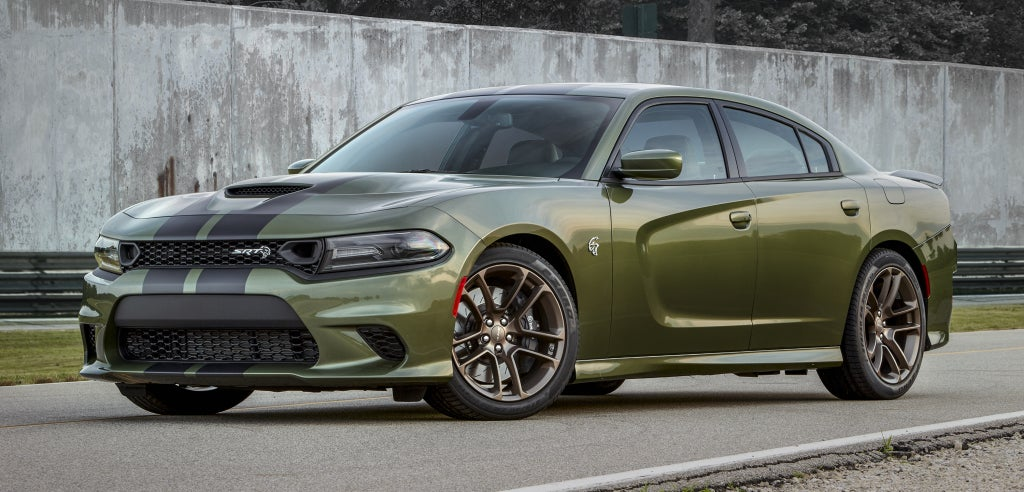 Frontal Dodgecharger srt hellcat