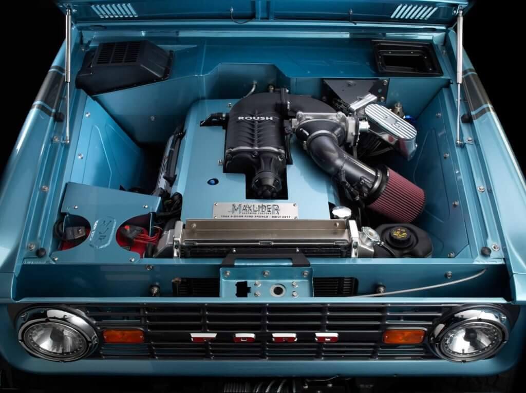 motor ford bronco restomod