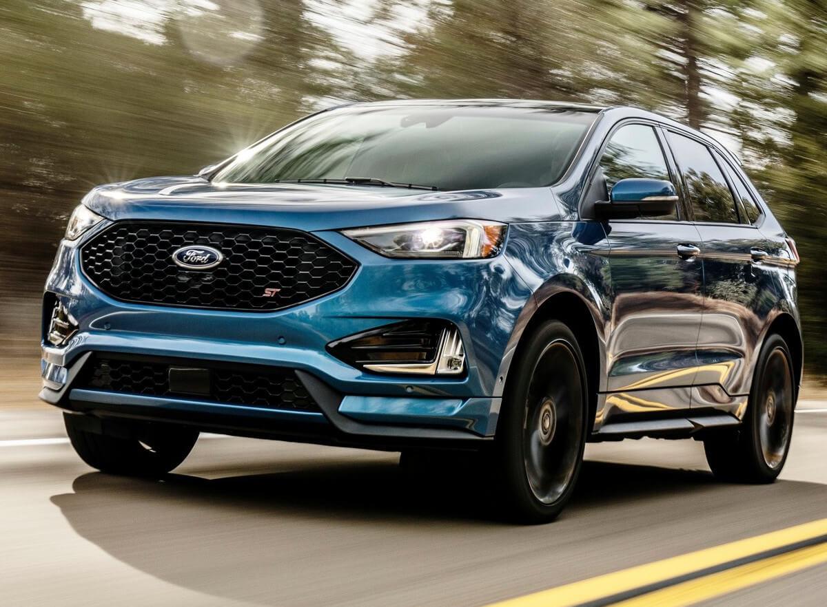 frente ford edge st 2019