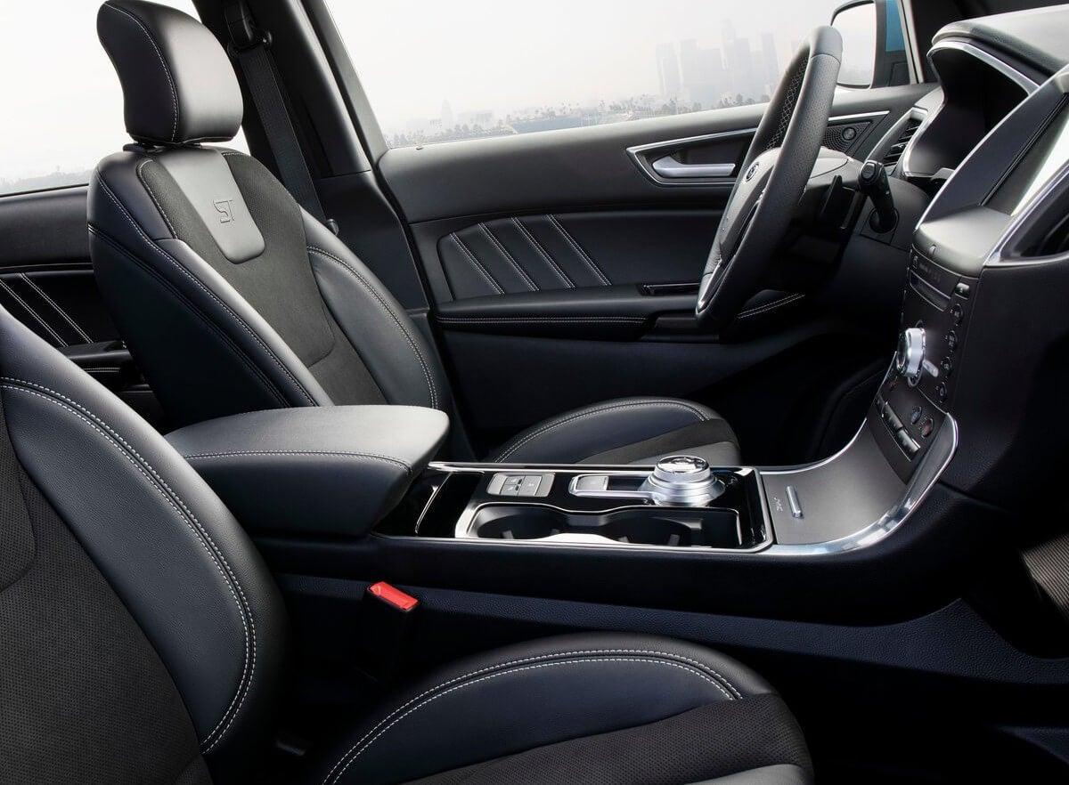 interior ford edge st 2019