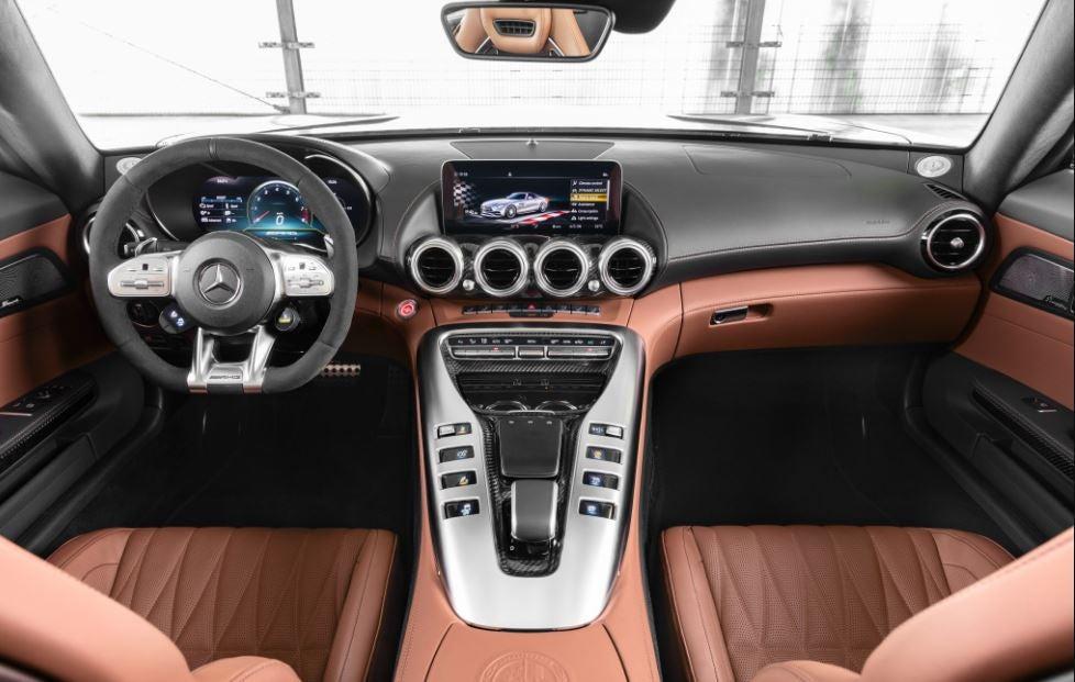 Interior del nuevo Mercedes-AMG GT
