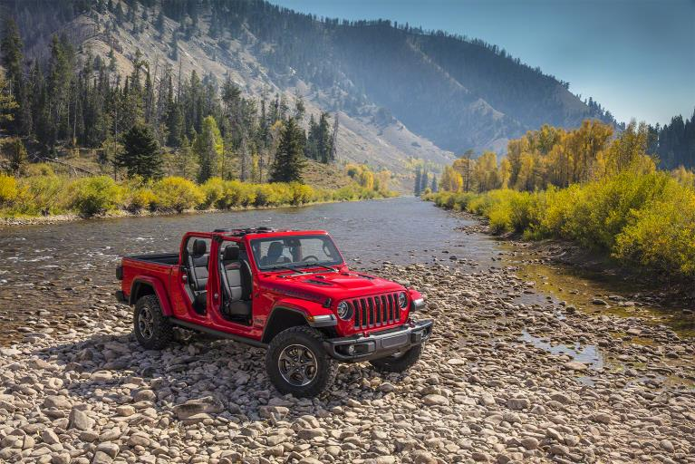 Jeep Gladiator 2020, la pick-up 4×4 a cielo descubierto
