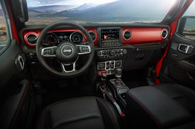 Jeep Gladiator 2020: interior