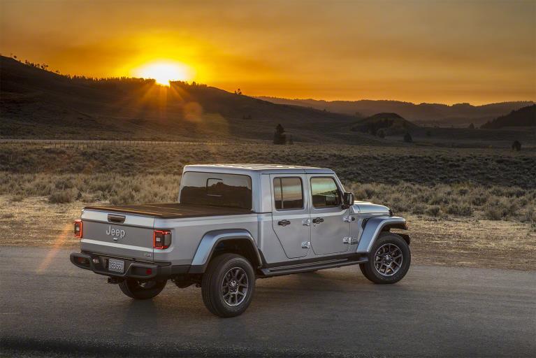 Jeep Gladiator 2020: trasera