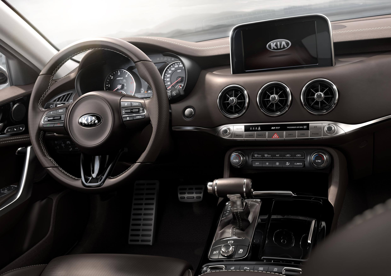 Kia Stinger: interior