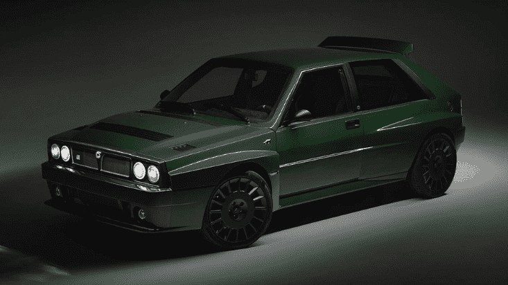 Lancia Delta Futurista by Automobili Amos, la reinterpretación del mito de los rallys