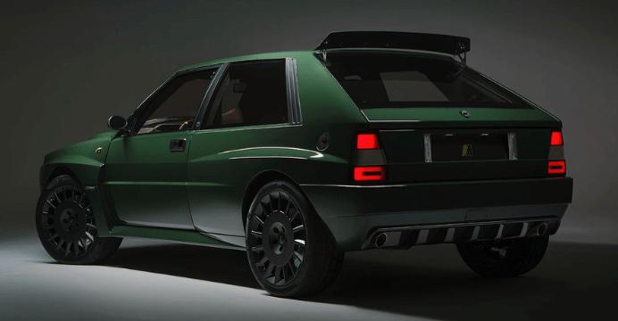 Lancia Delta Futurista by Automobili Amos: trasera