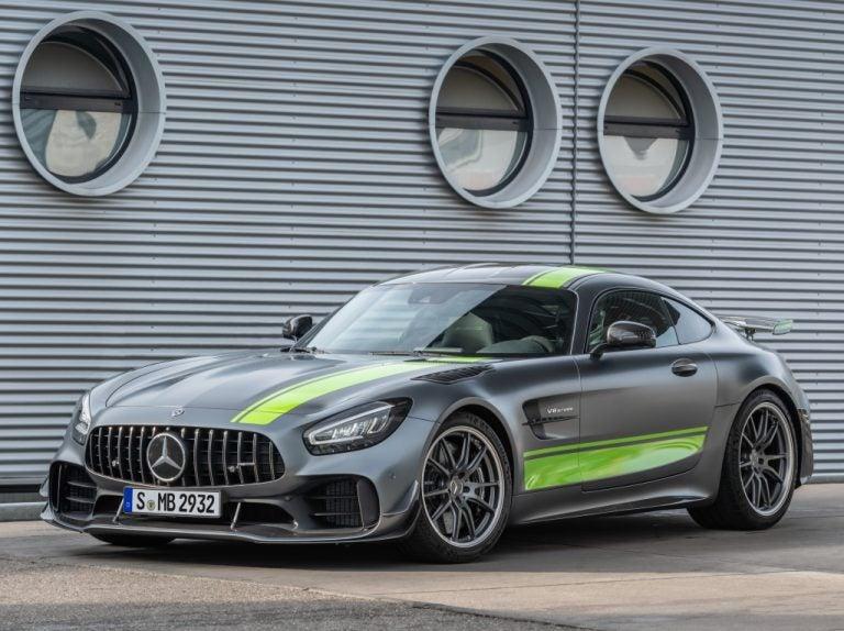 Mercedes-AMG GT R Pro, más radical, más extremo y más rápido