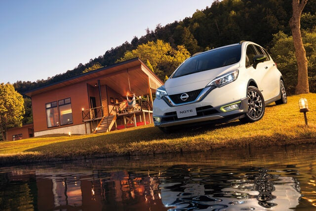 frente nissan note 2018