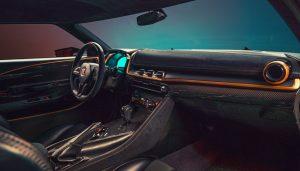 interior del Nissan GT-R50