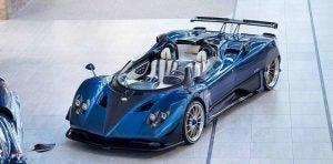 Pagani zonda Hp barchetta 2018 frontal