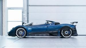 Pagani Zonda HP Barchetta 2018 lateral